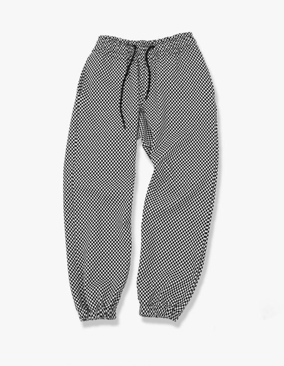 Enzo Blues Checkered Sweatpants | HEIGHTS. | International Store