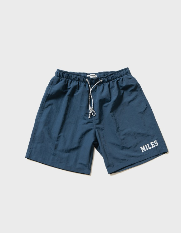 sounds good! Miles Relaxed Floppy Short - Navy | HEIGHTS. | International Store