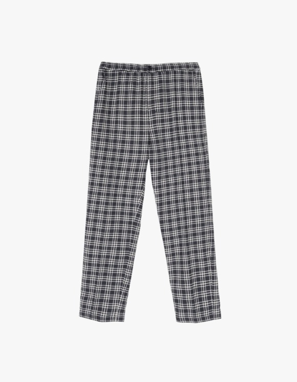 Stussy Plaid Linen Bryan Pant - Navy | HEIGHTS. | International Store
