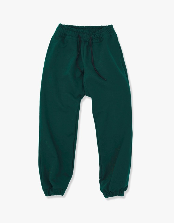 Enzo Blues Heavy Sweatpants - Deep Green | HEIGHTS. | International Store
