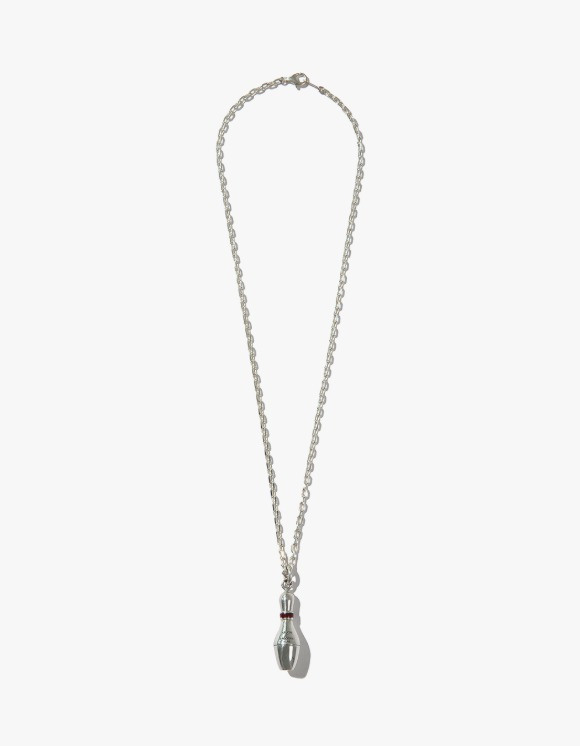 Kruchi lab Bowling Pin Necklace - Silver | HEIGHTS. | International Store