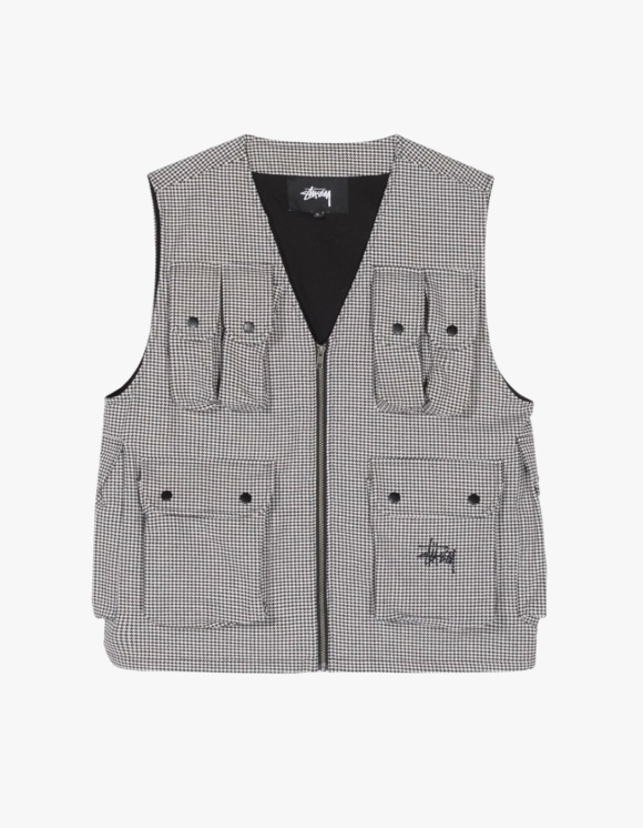 Stussy Houndtooth Work Vest | HEIGHTS. | International Store