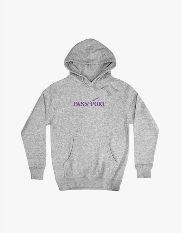 Pass Port Pass Port Lavender Hoodie - Heather Grey | HEIGHTS. | International Store