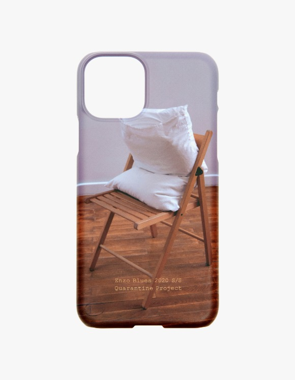 Enzo Blues Quarantine Digital Print Phone Case - Pillow on the Chair | HEIGHTS. | International Store