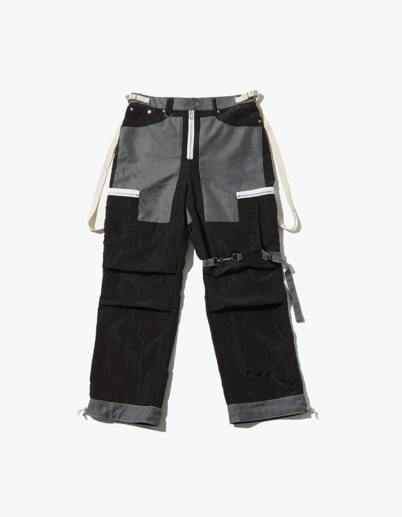 JOEGUSH Tactical Cargo Pants - Black | HEIGHTS. | International Store