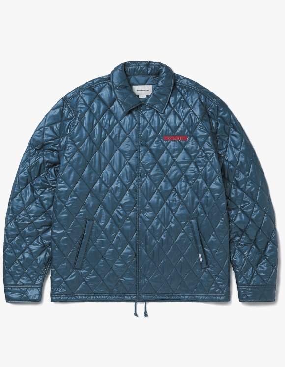 thisisneverthat Quilted Coach Jacket - Blue Green | HEIGHTS. | International Store