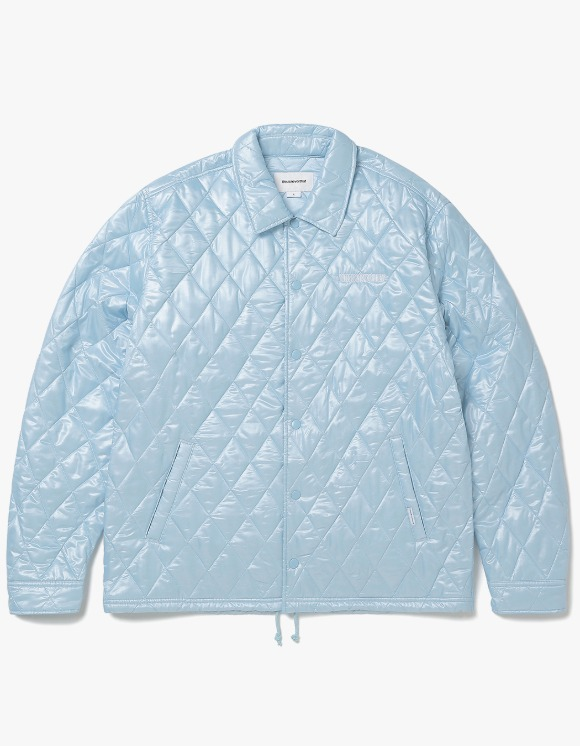 thisisneverthat Quilted Coach Jacket - Sky Blue | HEIGHTS. | International Store