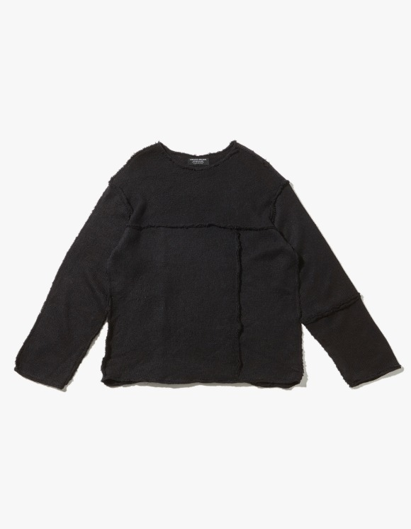 JOEGUSH Panel Inside Out Mohair Knit - Dark Navy | HEIGHTS. | International Store