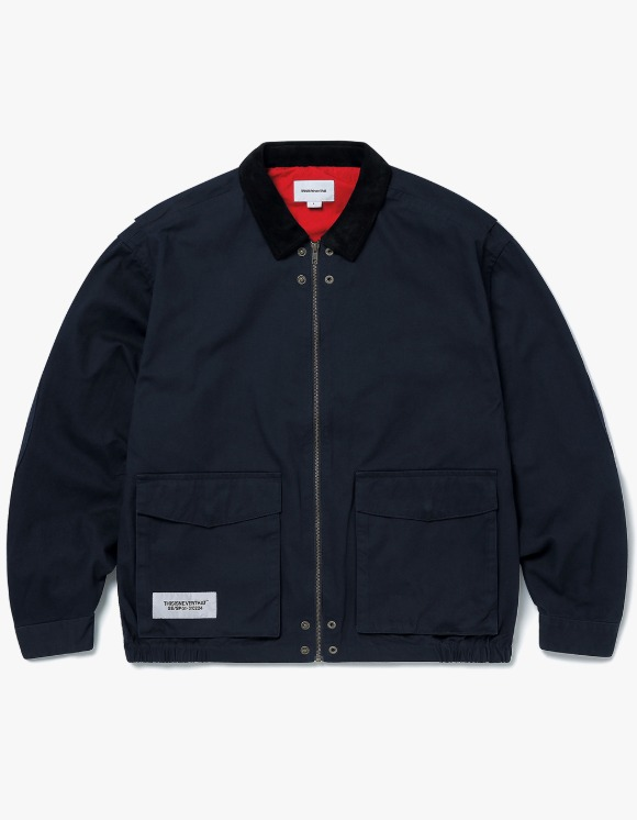 thisisneverthat Hunting Jacket - Navy | HEIGHTS. | International Store