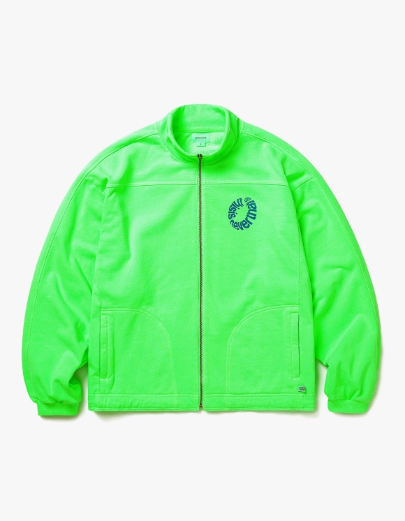 thisisneverthat RING Sweat Jacket - Neon Green | HEIGHTS. | International Store