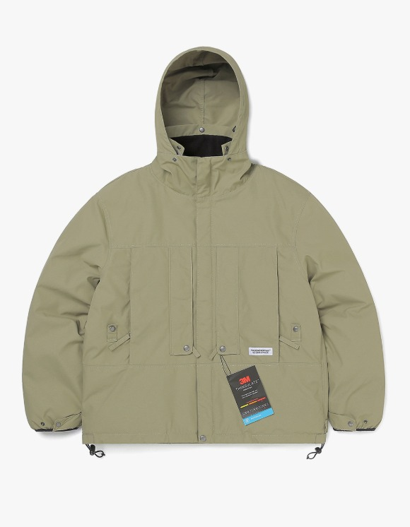 thisisneverthat FL Parka - Khaki | HEIGHTS. | International Store