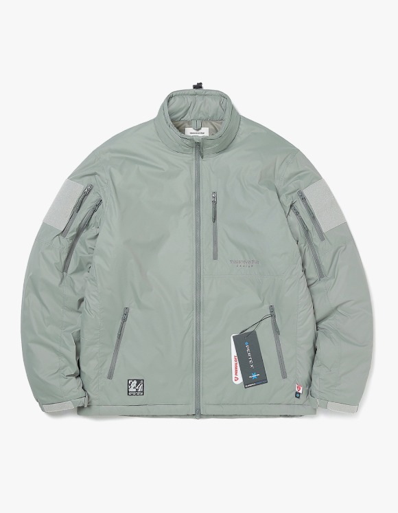 thisisneverthat Insulated PCU Jacket - Olive | HEIGHTS. | International Store