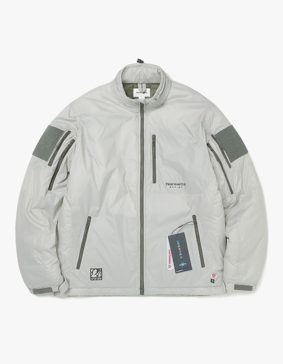 thisisneverthat Insulated PCU Jacket - Grey | HEIGHTS. | International Store