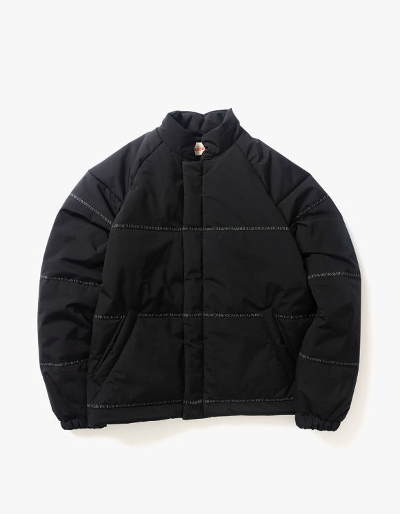 Victoria Hong Kong Bonded Polyester Puffer - Black | HEIGHTS. | International Store
