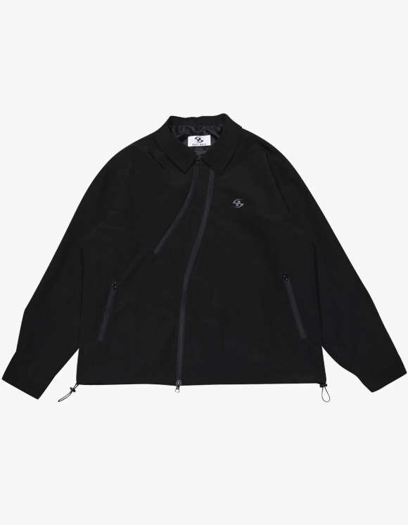San San Coach Jacket - Black | HEIGHTS. | International Store