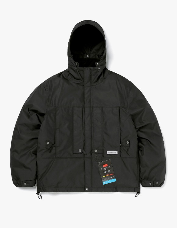 thisisneverthat FL Parka - Black | HEIGHTS. | International Store