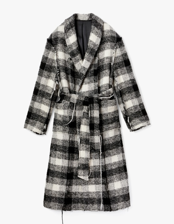 s/e/o Robe Coat - Knitted Check | HEIGHTS. | International Store