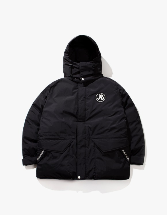 Richardson R Glyph Down Jacket - Black | HEIGHTS. | International Store