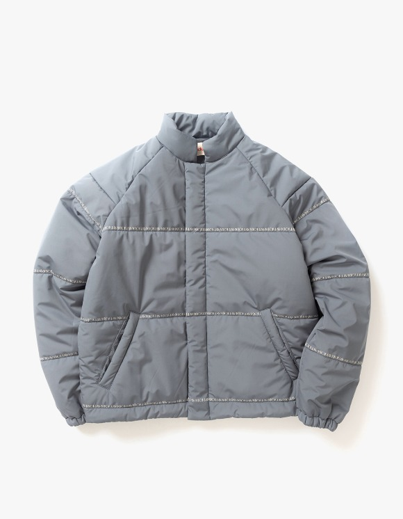 Victoria Hong Kong Bonded Polyester Puffer - Charcoal | HEIGHTS. | International Store