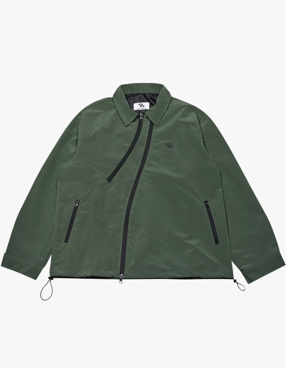 San San Coach Jacket - Green | HEIGHTS. | International Store