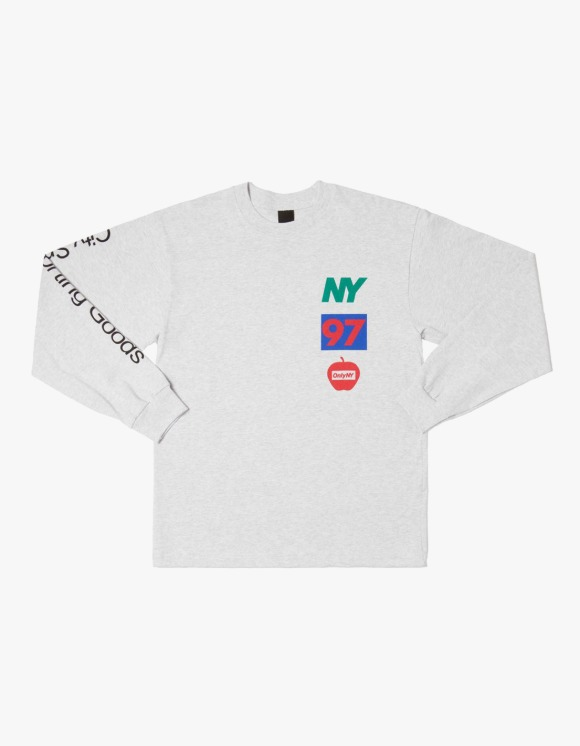 Only NY Lineup L/S Tee - Ash | HEIGHTS. | International Store