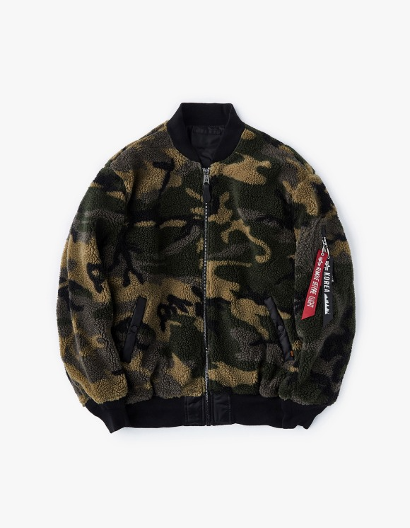 Alpha Industries L-2B Sherpa W - Woodland Camo | HEIGHTS. | International Store