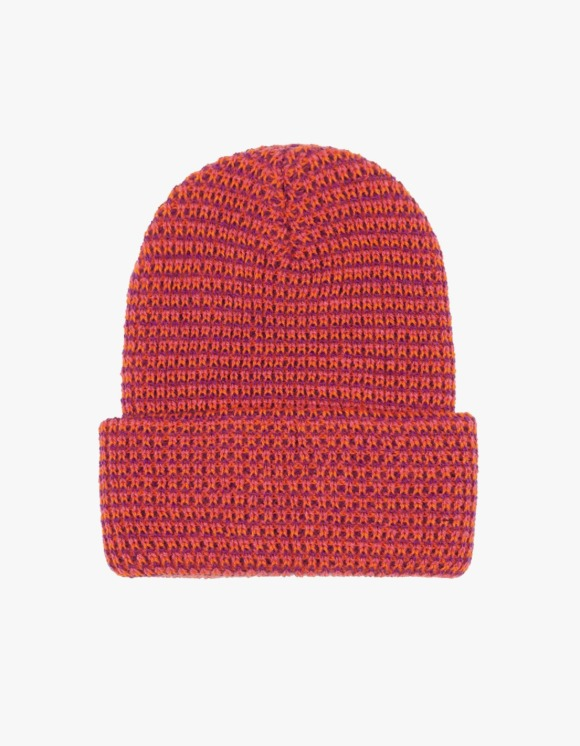 Only NY Basic Loose Gauge Beanie - Pomegranate | HEIGHTS. | International Store