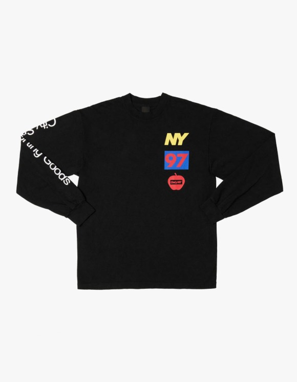 Only NY Lineup L/S Tee - Black | HEIGHTS. | International Store