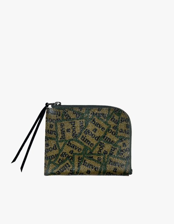 Medicom Toy Zip Wallet - Military Frame | HEIGHTS. | International Store