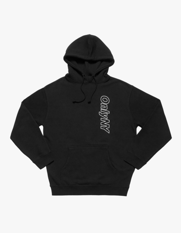 Only NY Core Logo Outline Hoodie - Black | HEIGHTS. | International Store