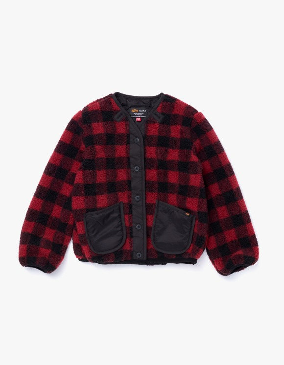 Alpha Industries Sherpa Utility Liner W - Red Palid | HEIGHTS. | International Store