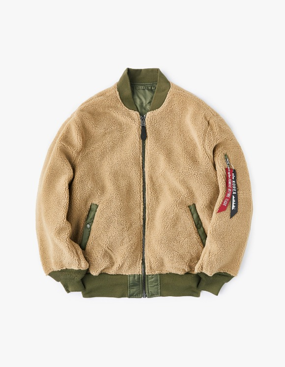Alpha Industries L-2B Sherpa W - Cream | HEIGHTS. | International Store