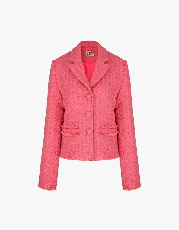 Margarin Fingers Candy Tweed Jacket - Pink | HEIGHTS. | International Store