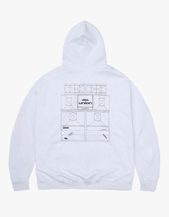 Kompakt Record Bar Sound Bombing Hoodie - Ash Grey | HEIGHTS. | International Store