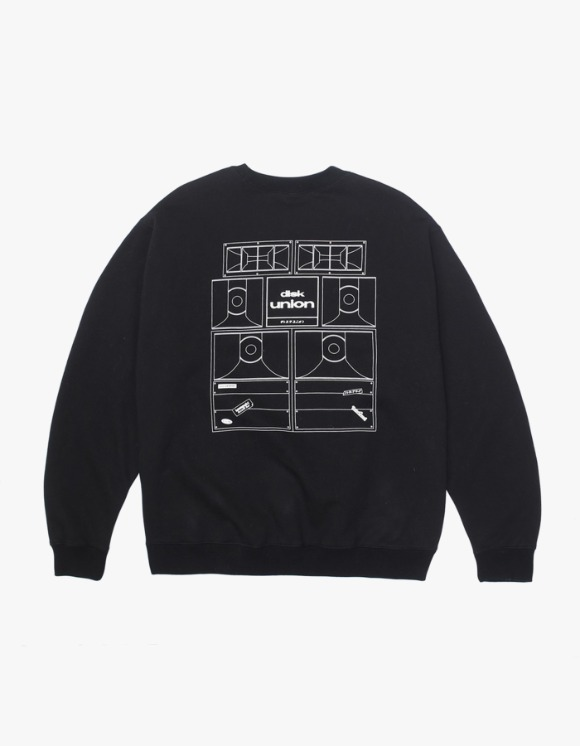 Kompakt Record Bar Sound Bombing Crewneck - Black | HEIGHTS. | International Store