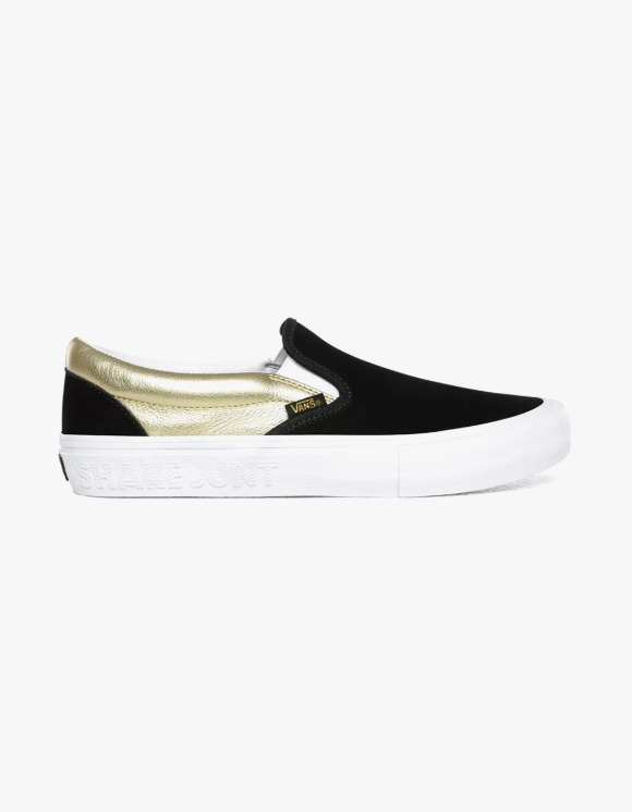 Vans Vans X Shake Junt Slip-on Pro - Black/Gold | HEIGHTS. | International Store