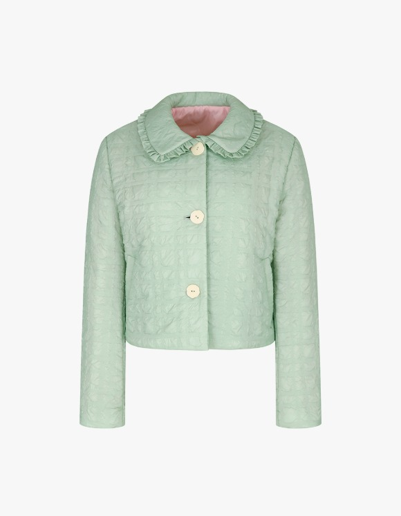 Margarin Fingers Frill Collar Padding - Mint | HEIGHTS. | International Store
