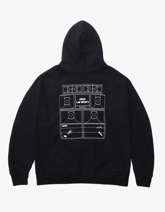 Kompakt Record Bar Sound Bombing Hoodie - Black | HEIGHTS. | International Store