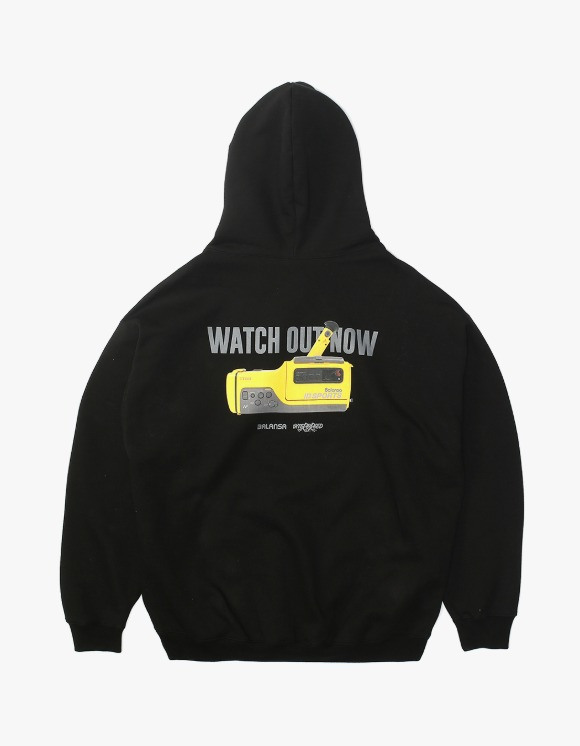 Balansa Watch Out Hoodie - Black | HEIGHTS. | International Store