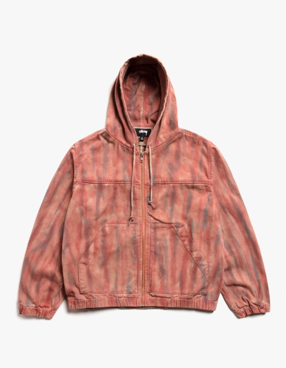 Stussy Dyed Work Jacket - Rust | HEIGHTS. | International Store