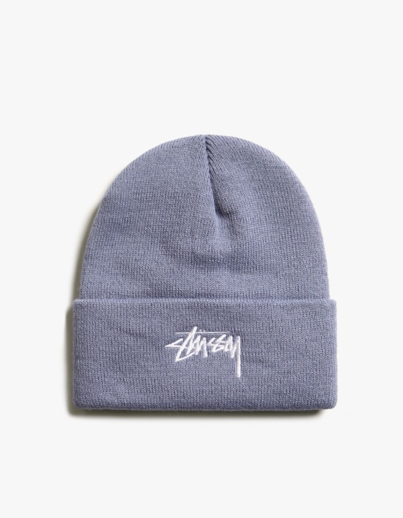 Stussy Stock Cuff Beanie - French Blue | HEIGHTS. | International Store