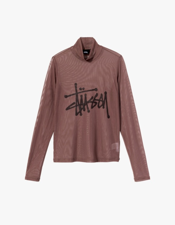 Stussy Layer L/S Tee - Brown | HEIGHTS. | International Store