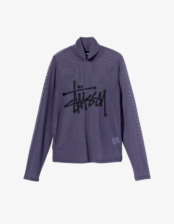 Stussy Layer L/S Tee - Ink | HEIGHTS. | International Store