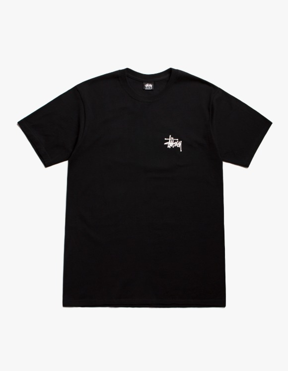 Stussy Basic Stussy Tee - Black | HEIGHTS. | International Store