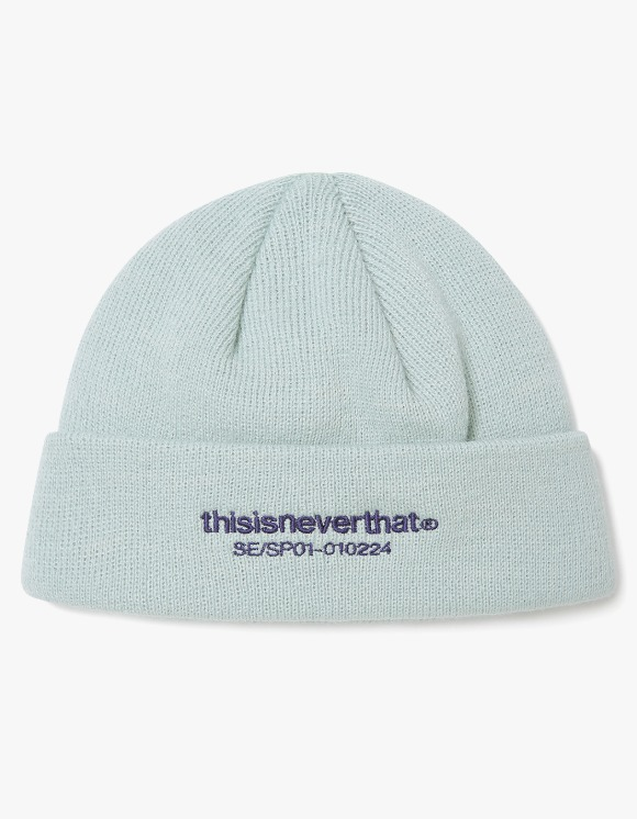 thisisneverthat T-Logo Short Beanie- Pale Blue | HEIGHTS. | International Store