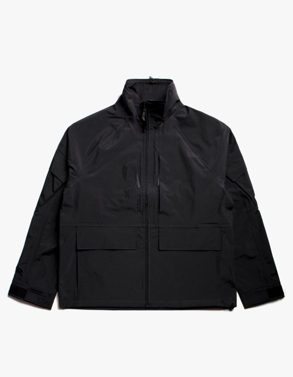 Stussy Apex Shell Jacket - Black | HEIGHTS. | International Store