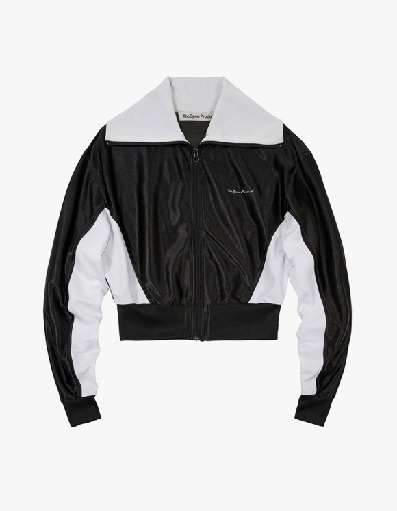 TheOpen Product Glossy Track Jacket - Black | HEIGHTS. | International Store