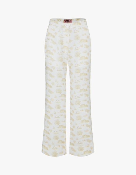 Margarin Fingers Toile Pants - Cream | HEIGHTS. | International Store