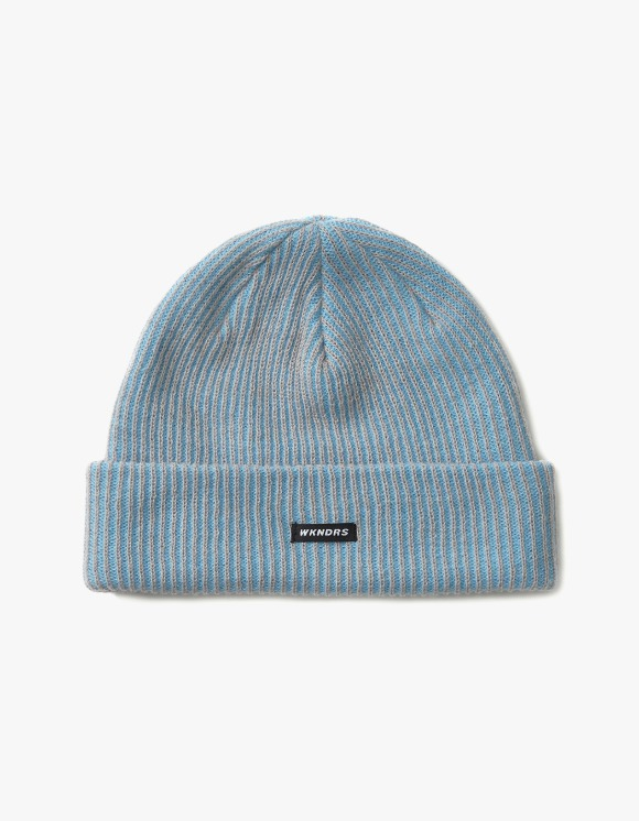 WKNDRS Striped Beanie - S.Blue | HEIGHTS. | International Store