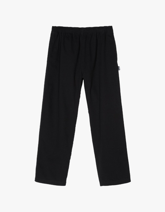 Stussy Brushed Beach Pant - Black | HEIGHTS. | International Store